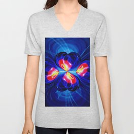 Abstract in pefection 111 Unisex V-Neck