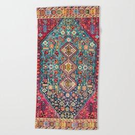 N131 - Heritage Oriental Vintage Traditional Moroccan Style Design Beach Towel