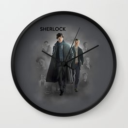 BBC Sherlock Wall Clock