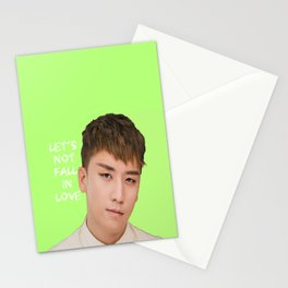 Bigbang MADE Let's Not Fall In Love Seungri Stationery Cards