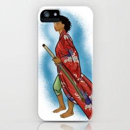 Young Woman Samurai (Onna Bugeisha) iPhone Case