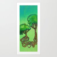 love trees Art Print
