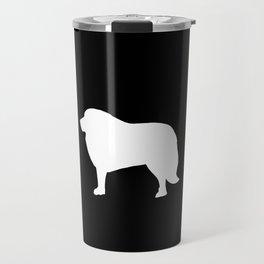 Big White Dog Travel Mug