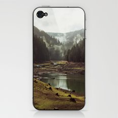 Foggy Forest Creek iPhone & iPod Skin