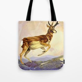 Pronghorn in the Morning Tote Bag