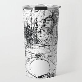 Hamsa in Nature Travel Mug