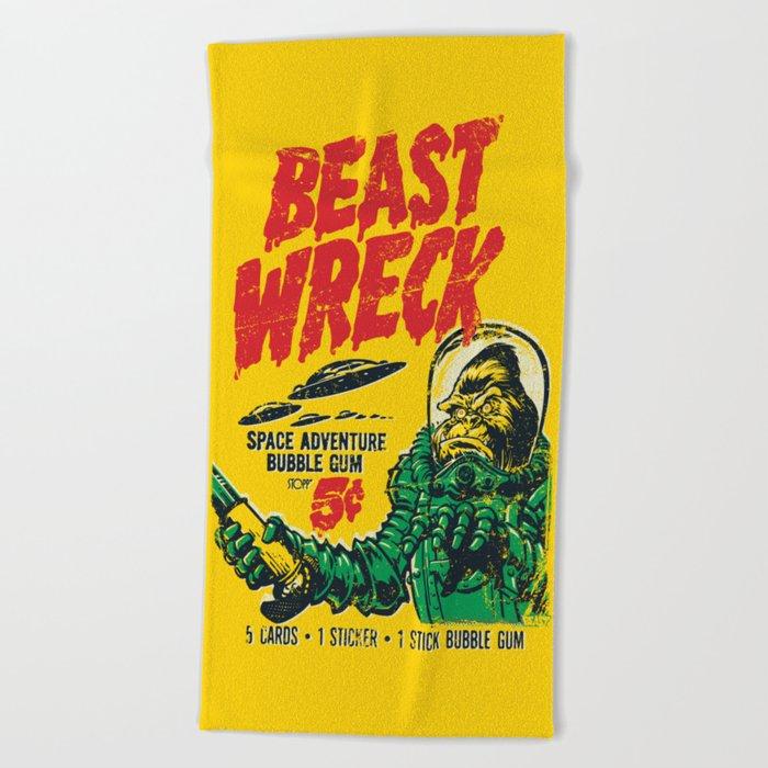 BEASTWRECK ATTACKS! Beach Towel