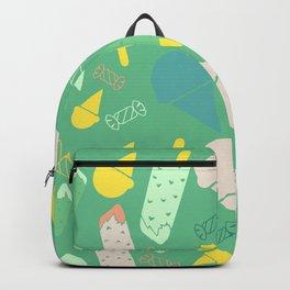 Ice Cream green Backpack