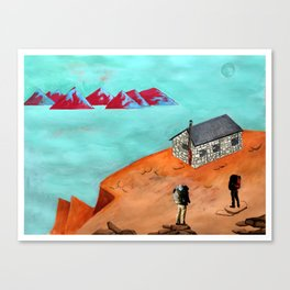daydreaming - Mt. Whitney Canvas Print