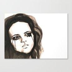 Tears for .... Canvas Print