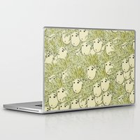 larry david Laptop & iPad Skins featuring Larry by UberMondoClash