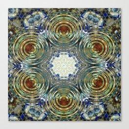 Mandalic Swirl New Kaleidoscope Canvas Print