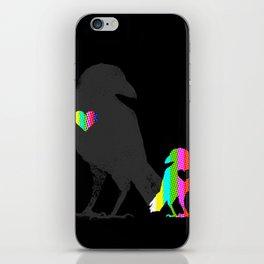 Crow's Heart iPhone Skin