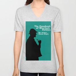 The Casebook of Sherlock Holmes Unisex V-Neck