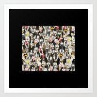 Vultures (small) Art Print