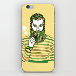 Sea Wolf Ghost (Yellow Version) iPhone Skin