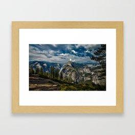 Yosemite National Park Landscape Framed Art Print