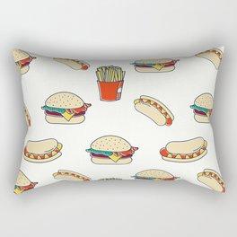 Junk Food Rectangular Pillow