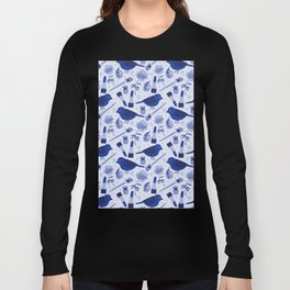 Birds in Winter Long Sleeve T-shirt