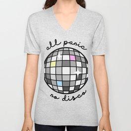 All Panic, No Disco Unisex V-Neck