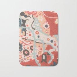 "Gustav Klimt ""Textile design - Model 3"" Bath Mat"