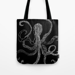 B&W Octo Tote Bag