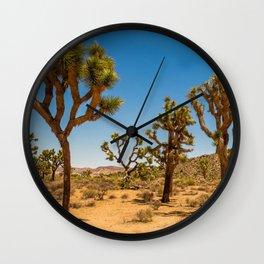 Desktop Wallpapers USA Joshua Tree Nature Sand Par Wall Clock
