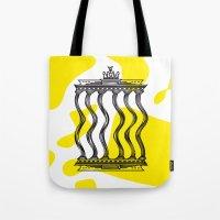 berlin Tote Bags featuring Berlin by Jan Luzar