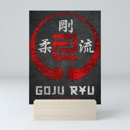 Karate Goju Ryu Mini Art Print