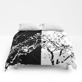 Yin Yang Bush Comforters