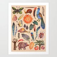 tropical Art Prints featuring Tropical by Vlad Stankovic