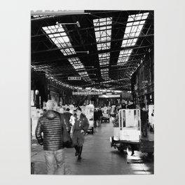 The Entry to Tsukiji Fish Market, Tokyo, Japan Poster