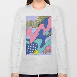 Waves 03 Long Sleeve T-shirt