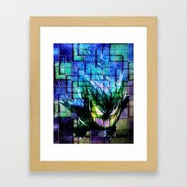 Gengar Blix Framed Art Print