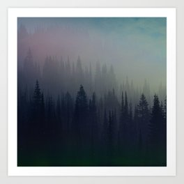 Boreal Forest Art Print
