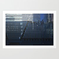 Thompson Center, new perspective Art Print