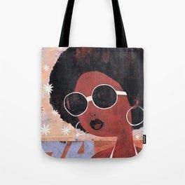 Afro 74 Tote Bag
