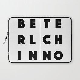 Berlin Techno Laptop Sleeve