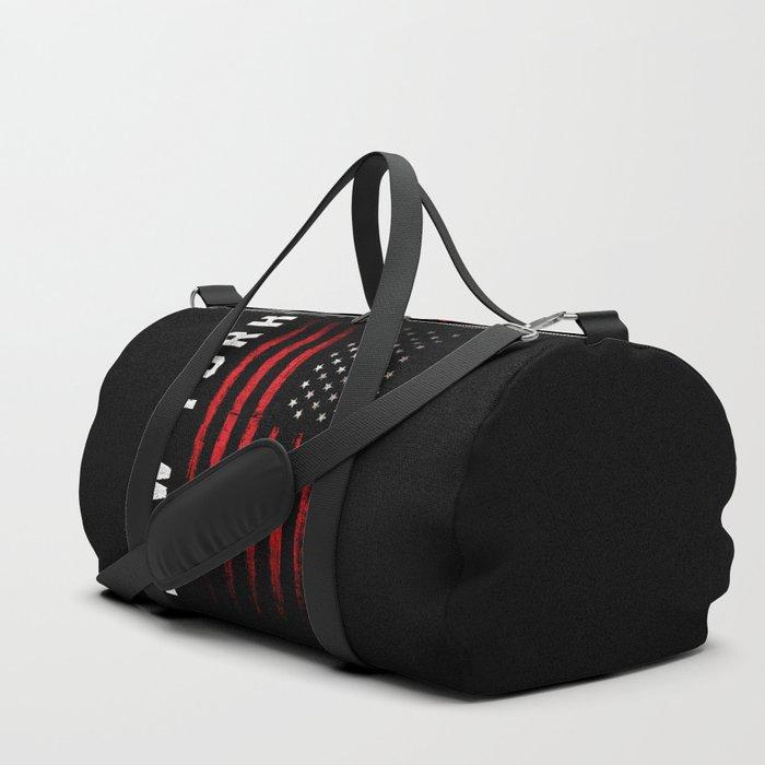 New York American flag Duffle Bag