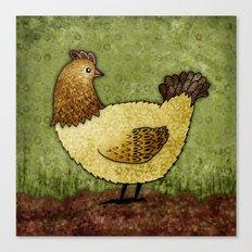 Bobba the Hen Canvas Print
