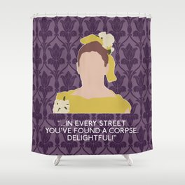 The Sign of Three - Molly Hooper Shower Curtain