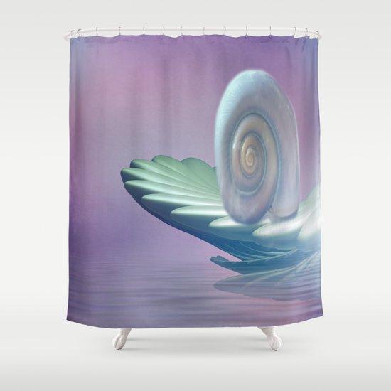 Wellness Boat Shower Curtain