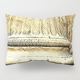 Columns of the Sacred Temple Pillow Sham