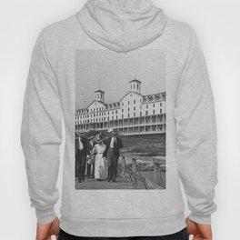 1886 Watch Hill - Larkin Hotel, Westerly, Rhode Island Hoody