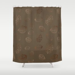 Christmas Plates, Wall Tapestry, Figs, Throw-pillows Shower Curtain