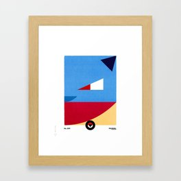 PKMNML #009 BLAS TOISE Framed Art Print