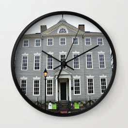 Lee Mansion, Marblehead, MA Wall Clock