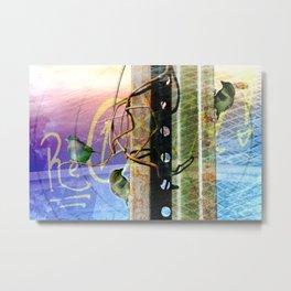 City Birds 02 Metal Print