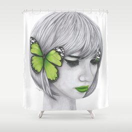Hear No Evil Shower Curtain