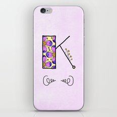 K iPhone & iPod Skin